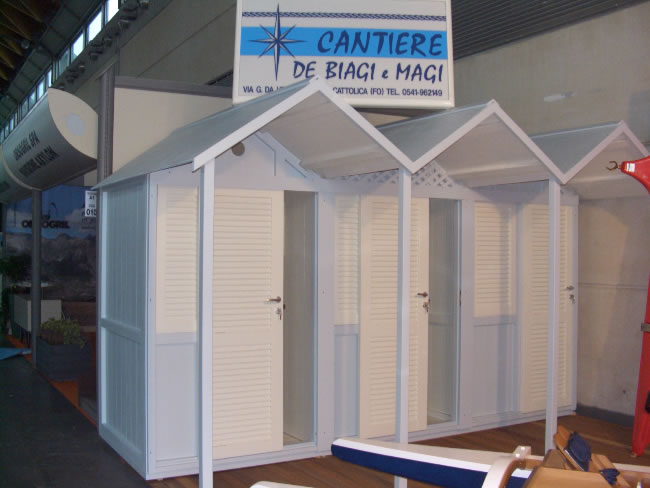 Cabine Bagno Da Cantiere : Cabine da spiaggia cabine in legno da spiaggia de biagi magi